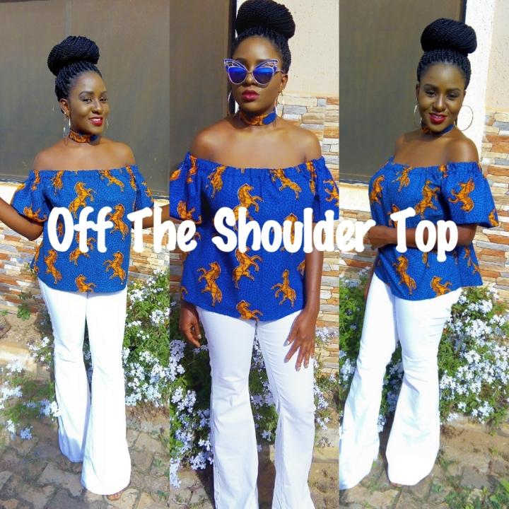 DIY: The Off-ShoulderTop