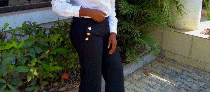 DIY || REVAMPING OLD TROUSERS WITHBUTTONS