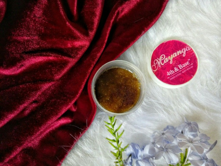 EXFOLIATE WITH MAYANGA EXFOLIATING POLISH