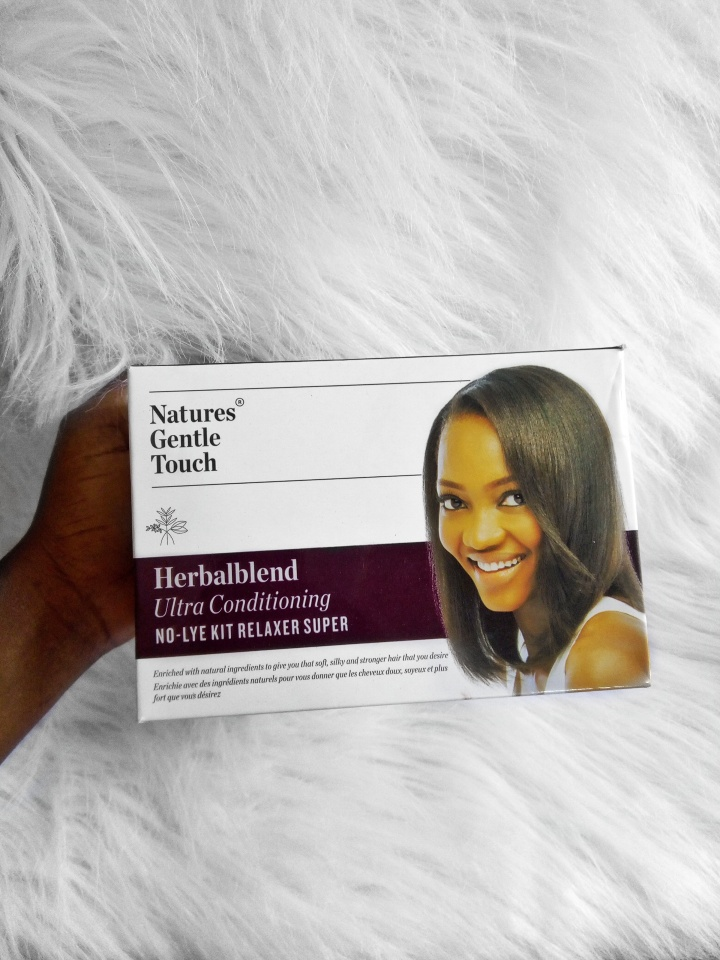 PRODUCT REVIEW - NATURES GENTLE TOUCH FOR A RELAXED HAIR