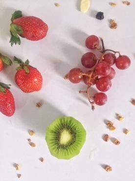 FRUIT AND NUT PARFAIT